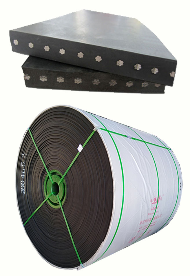 DIN X Dia 4.5mm BW1000 1250N/mm Specialty Steel Cord Conveyor Belt