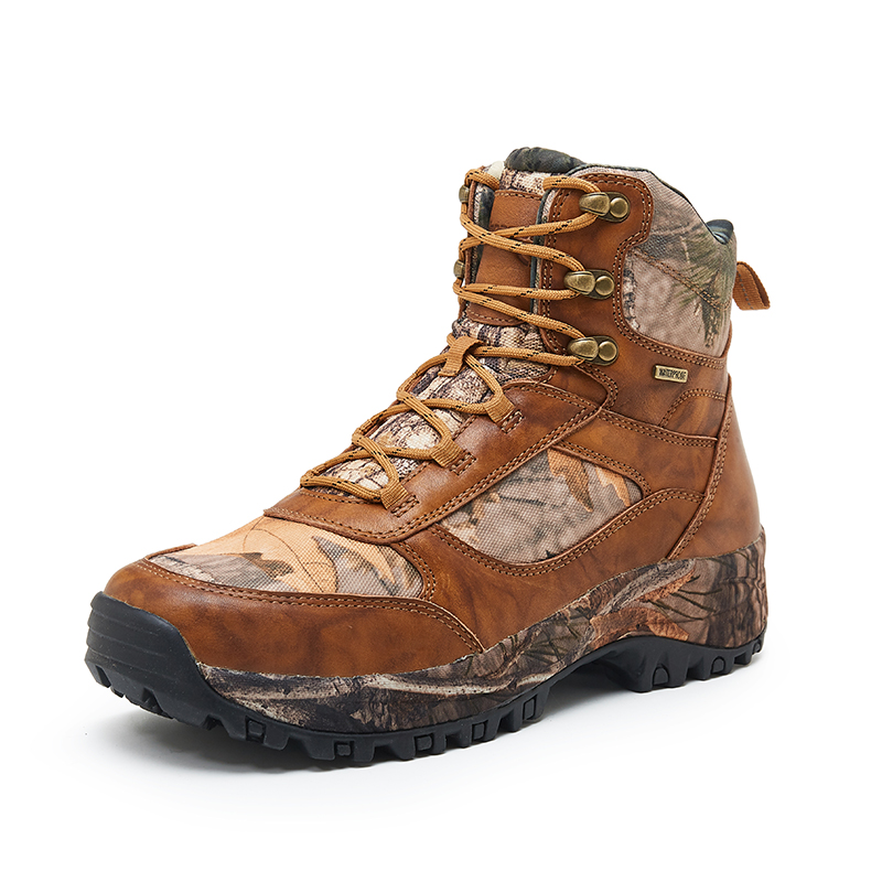 light weight durable waterproof camouflage Half hunting boot