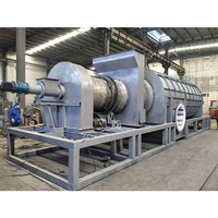 Beston BST-30 3-5T/H Rice Husk Wood Sawdust Charcoal Making Carbonization Furnace Machine