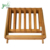 3 Layer Bamboo Folding Plant Stand, Flower Pot Display Shelf for Outdoor And Indoor