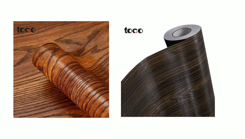 पीवीसी टुकड़े टुकड़े में लकड़ी funiture के लिए चादरों सजावटी टुकड़े टुकड़े में कागज