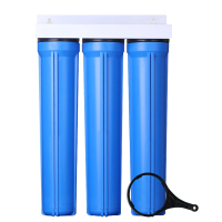 3 stage 20 inch water filter system water filter housing big blue single water filter cartridge housing