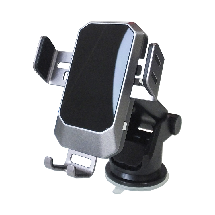 universal qi fast auto charging mini cellphone stand custom smart mobile phone holder wireless charger