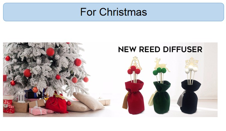 2019 new products christmas decorative reed diffuser stick