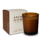 Top 1 amber glass candle jars wholesale decorative pillar holder with wax modern aomatherapy candle stand for decoration