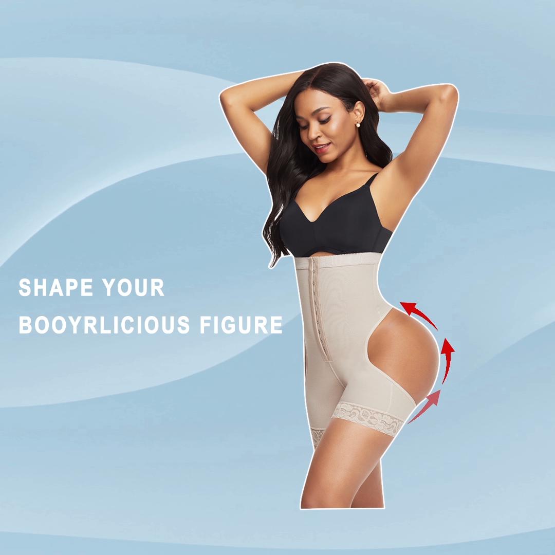 HEXIN Design Novo Mulheres Cintura Alta Conjunto Shapewear Controle Cinto de Fitness Sem Costura Corpo Shaper Do Corpo Cintura Fina