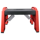 25cm height plastic folding stool with printing New product outdoor plastic folding stool plastic step stool