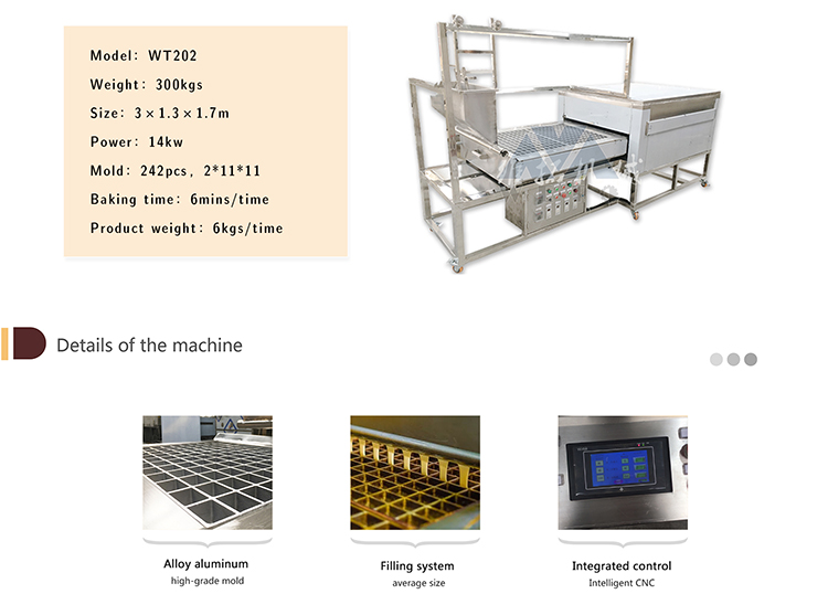 China hot sale automatic delimanjoo cake machine with low price long service life bakery machine