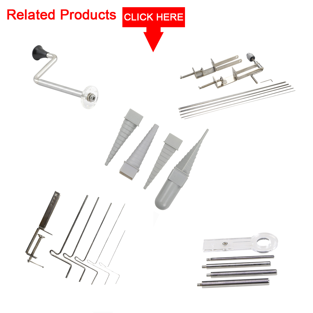 High Quality Jewelry Tools Wire Wrapping Jump Ring Maker Mandrel Set