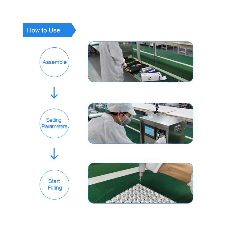 Greentime 2019 novo produto barato preço 0.5/ml de vidro de óleo cbd 1 GT10 cartucho máquina de enchimento