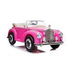 VIPBUDDY Licensed Mercedes Benz 300S Kids Ride On Car pink children toys electric