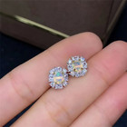 Earrings Fashion New Arrival Natural S925 Silver Plated 18k Gold Opal Earrings Fashion Simple And Fresh Earrings
