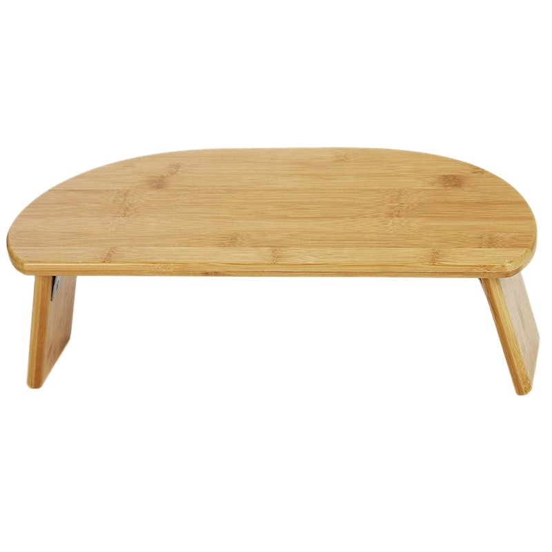 Portable 100% Bamboo Meditation Kneeling Bench With Magnetic Folding Legs