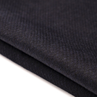Wholesale double-faced cashmere fabric recycled wool different color between warp and weft yarn woolen fabric