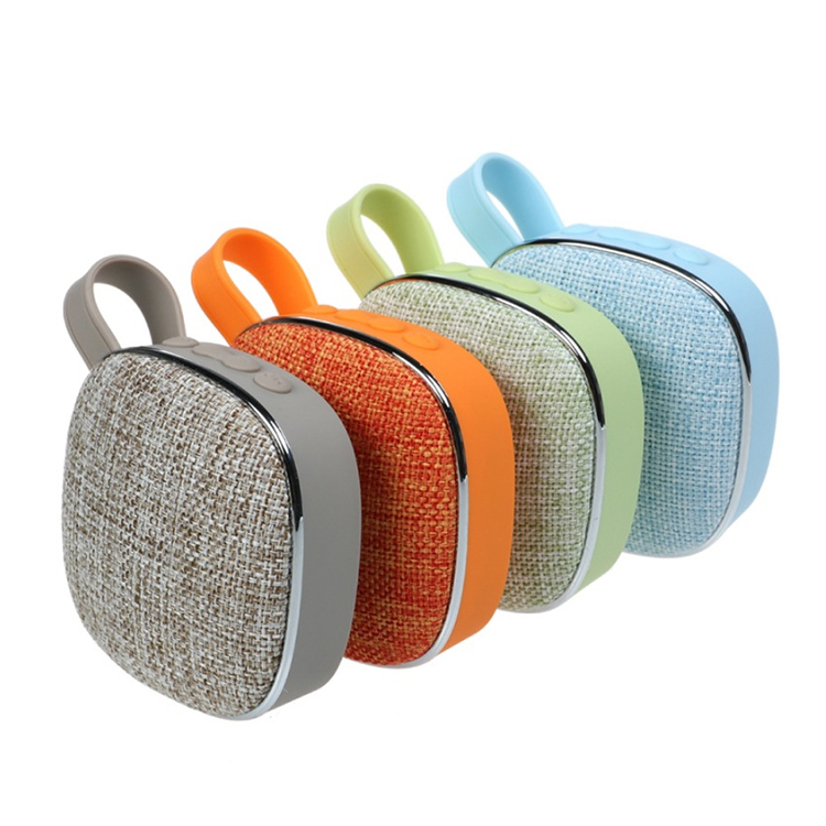 Wholesale New Portable <strong>Bluetooth</strong> <strong>Speaker</strong> Outdoor Home Small Fabric Rechargeable USB <strong>Wireless</strong> Mini <strong>Bluetooth</strong> <strong>Speakers</strong>