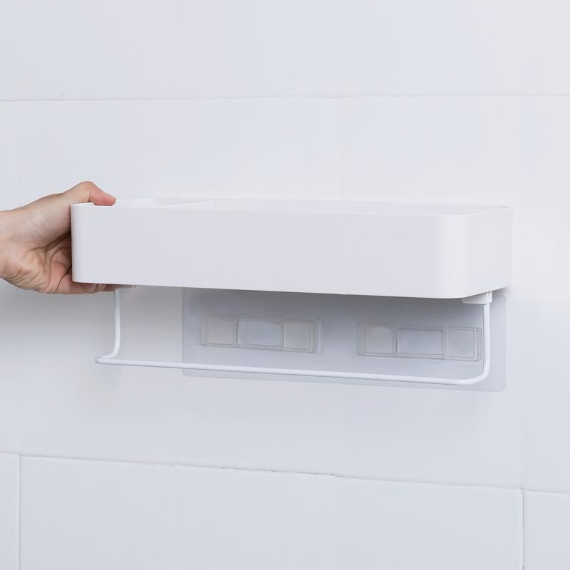 कोमल स्पर्श बाथरूम धारक स्मार्ट बाथरूम शेल्फ छोटे से बाथरूम शेल्फ
