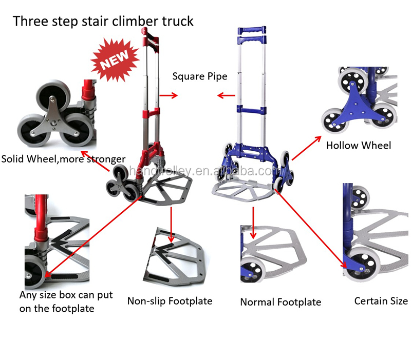 Hand Truck Down Stairs Hand Trolley For Stairs