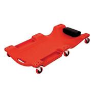 مقعد زاحف ميكانيكي 2 في 1 ، مرآب دوار كبير أحمر/زحف متجر