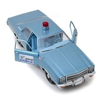 Factory custom diecast toy vehicles model car 1/18 scale high detail police car model