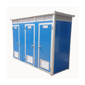 Steel Frame Prefabricated Portable Toilet Sandwich Panel Toilet For Sale