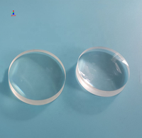 optical glass 80mm cemented doublet achromatic lens for telescope