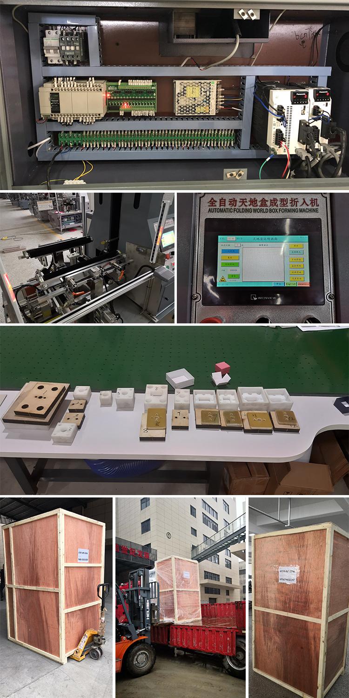 MS-520A Halbautomatische Starre Papierkasten Verpackungsmaschine