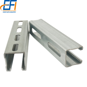 41x41x2.5mm Perforated galvanized c channel, unistrut channel P1000 price list