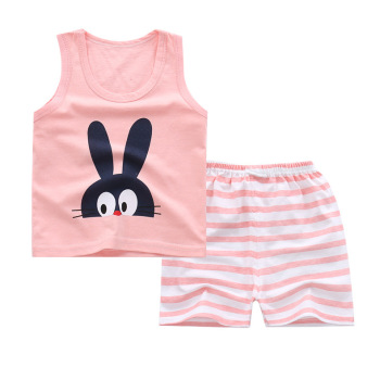 Wholesale summer Baby Boy Clothes Sets cute kids Cheap clothes set