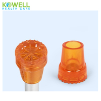 Wholesale price rubber walking cane parts tip non-slip walker tips