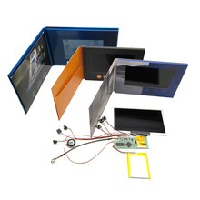 Custom wenskaart module touch screen video brochure tft <span class=keywords><strong>lcd</strong></span> digitale boekje componenten