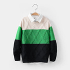 Kids new design boys stylish pullover knitted childrens sweaters