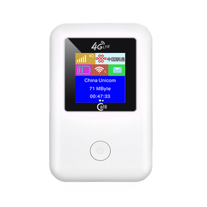4G Router Wifi Portabel Mobile Wifi Hotspot Nirkabel Broadband 4G 3G Dibuka Modem Mitra Perjalanan 4G LTE Router Nirkabel