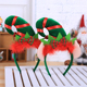 Child Good Quality China Beautiful Red Diy Type Antlers Christmas Cute Custom Style Headband