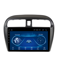 9 Inch Android 8,1 Auto Gps-Navigation Für Mitsubishi mirage attrage <span class=keywords><strong>2012</strong></span> 2013 2014 2015 2016-2018 gebaut-<span class=keywords><strong>in</strong></span> Radio Video Bt Wifi