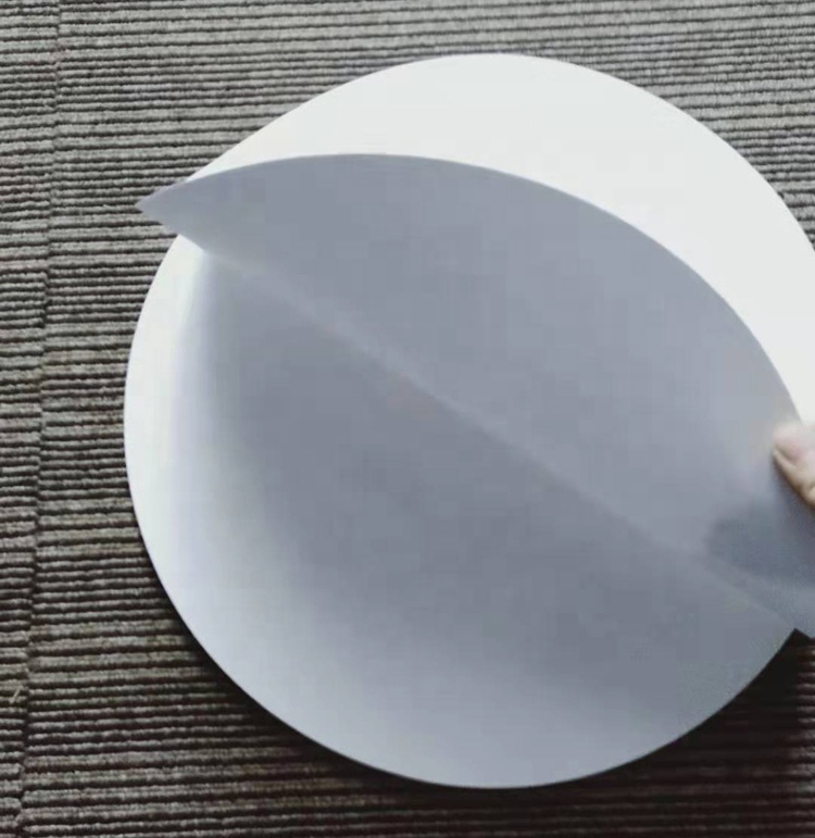 36cm White Color Round Art Circle Dot Painting Paper Pack 30 Sheets