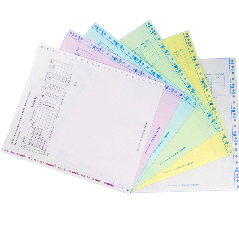 Chinese Supplier hot selling acid-free computer continuous printing 2 ply paper