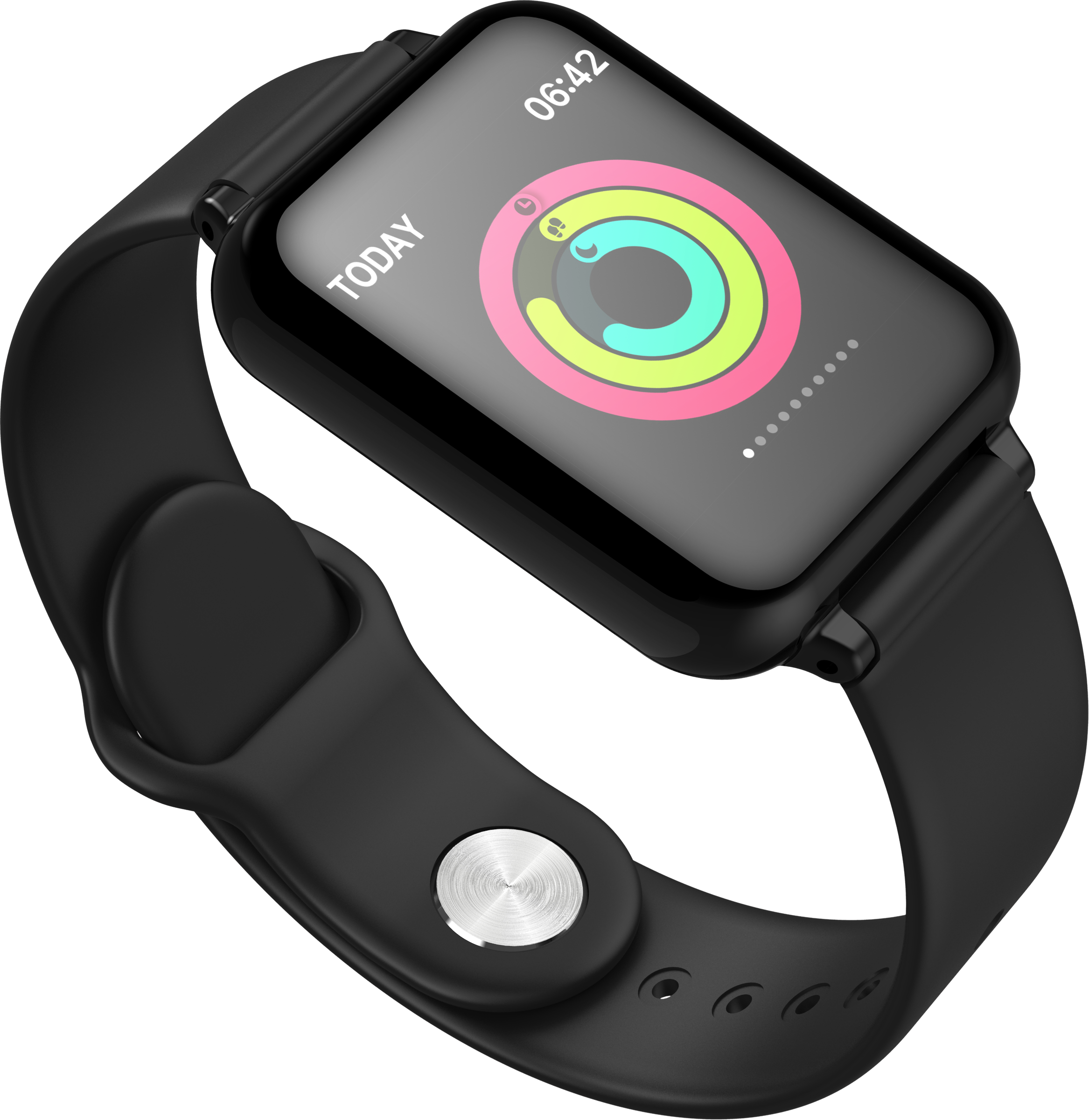 2020 트렌드 제품 방수 스포츠 시계 피트니스 트래커 스마트 블루투스 팔찌