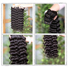 100% Brazilian curly virgin human hair weave bundle,brazilian deep wave virgin hair bundles,real raw mink brazilian hair vendor