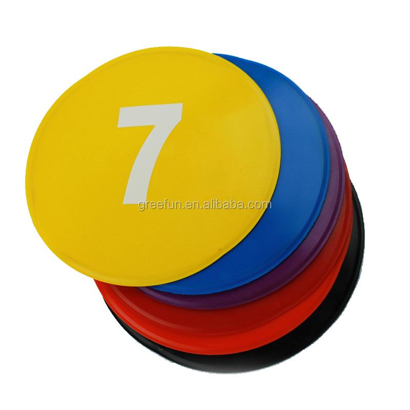 Распродажа, плоские дисковые маркеры, 10 шт., футбольные точечные маркеры, Нескользящие ПВХ круги для спортивных тренировок, обучения школе