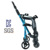direct manufacturer hot mon luxury lightweight 4 big wheels tricycle stroller