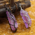 Hot sale fashion handmade natural natural amethyst pendant crystal pendant for necklace jewelry