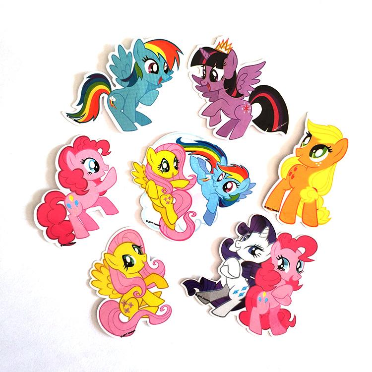 Custom Die Cut Cute Cartoon Animal Self Adhesive Paper Stickers Creative DIY Decoration Sticker for Children Gifts