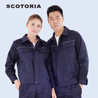Special design suitable for all workers work wear blouses and pants for women men uniform in world