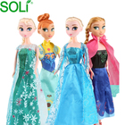 Customized New frozen 2 Princess doll frozen dress toys for kids