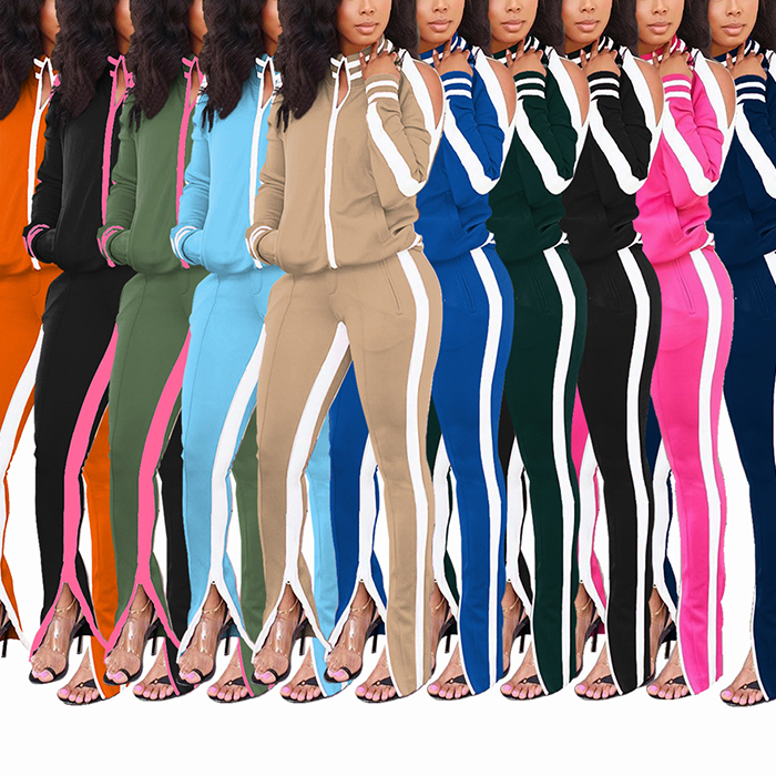 Casual Ladies Sweatsuit Two Piece Sets Jogging Suits Wholesale Plus Size Track Suit For Women Tracksuit Set Buy Women Tracksuit Set Jogging Suits Wholesale Women Joggers Suits Set Product On Alibaba Com