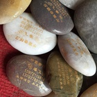 Wholesale Engraved Rough Carving Beads Mixed Tumbled Polished Natural Crafts Semi Precious Stone