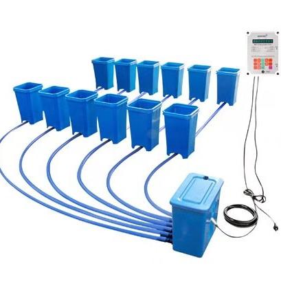 Sonneteck Beste preis Erweiterbar modulare kunststoff dutch hydrokultur erdbeere wachsen system eimer