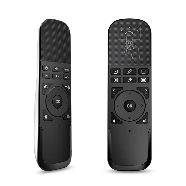 RF Udara Mouse atau Touchpad Remote Control untuk Smart TV Samsung Laser Pointer Wireless Presenter
