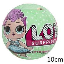Л. О. Л. Сюрприз! Lol куклы сюрприз кукла DIY Ручная работа глухая коробка модная модель кукла подарок девочка игрушка мяч капсула оболочки 2020 Но...(Китай)