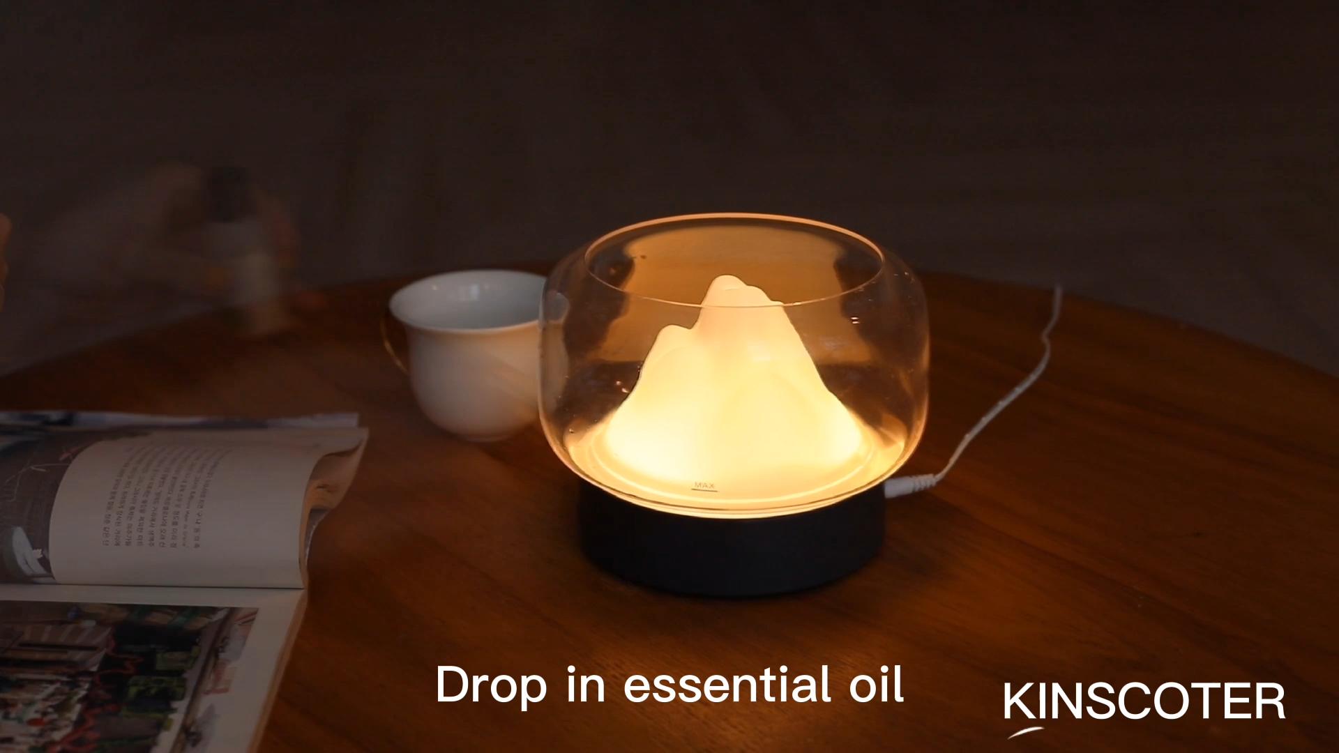 Neue 400ml Hotel Home Led Farbwechsel 400ml Aromatherapie Diffusor für Ätherisches Öl